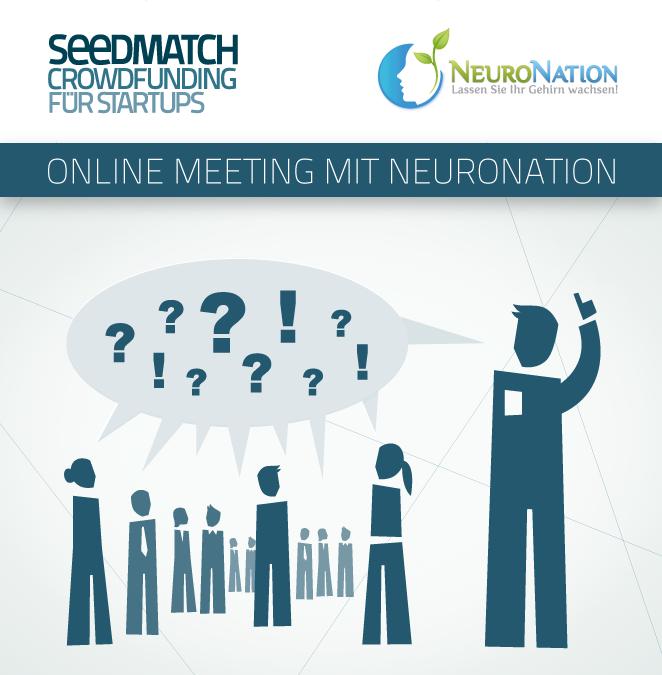 Crowdfunding Seedmatch NeuroNation Investorencall