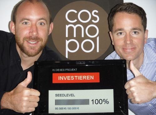 Crowdfunding-Erfolg Cosmopol