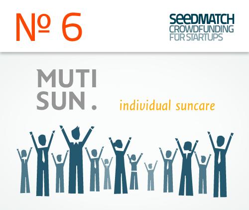 MUTISUN individuelle Sonnenpflege als Investmentchance bei Seedmatch