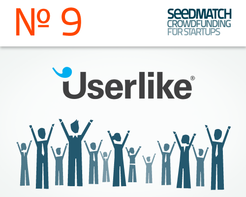 Preview Start für Crowdfunding bei Seedmatch Startup Userlike