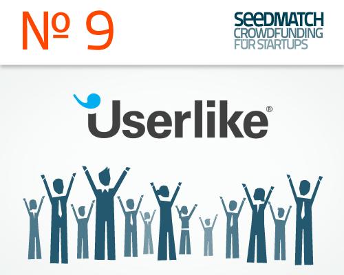 Preview Start für Crowdfunding bei Seedmatch Startup Userlike