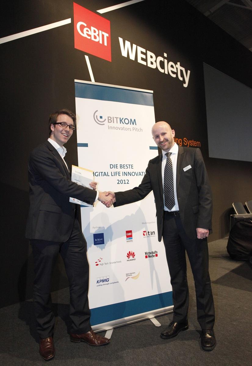 Smarchive gewinnt den BITKOM Innovators pitch auf der CeBIT