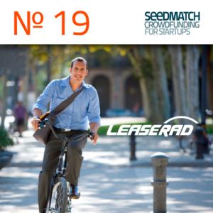 Das Startup LeaseRad startet ein Crowdfunding bei Seedmatch