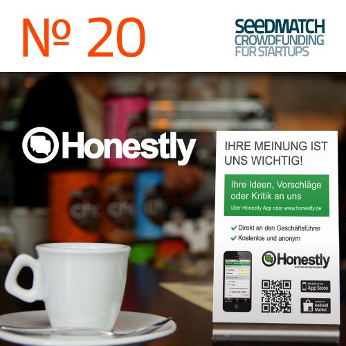 Startup Honestly im Crowdfunding bei Seedmatch