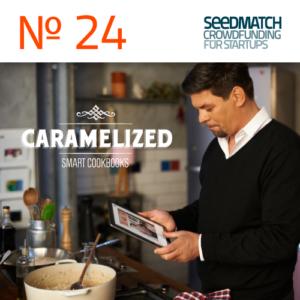 App Caramelized: Crowdfunding bei Seedmatch