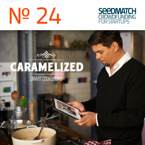 App Caramelized: Crowdfunding bei Seedmatch