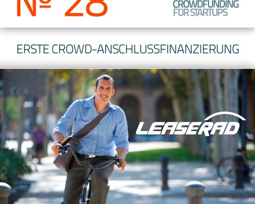 LeaseRad Crowdfunding-Anschlussfinanzierung bei Seedmatch
