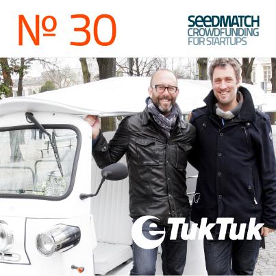 Crowdfunding von eTukTuk auf der Plattform Seedmatch
