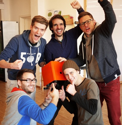 Protonet Team - ein Startup bei Seedmatch - Launch 4. Juli