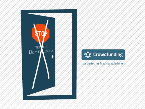 Partiarisches Nachrangdarlehen für Crowdfunding