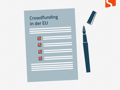 EU-Umfrage Crowdfunding