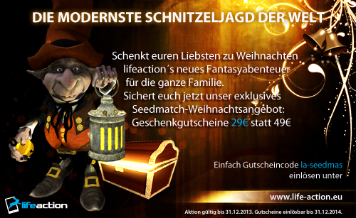 Lifeaction bei Seedmatch