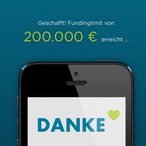 Erhöhung des Fundinglimits bei PAYMEY auf 300.000 Euro