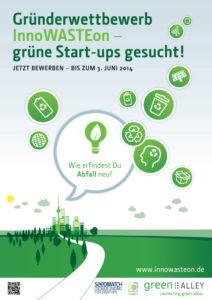 Auf der Suche nach dem Recycling von morgen: InnoWASTEon – grüne Start-ups gesucht!