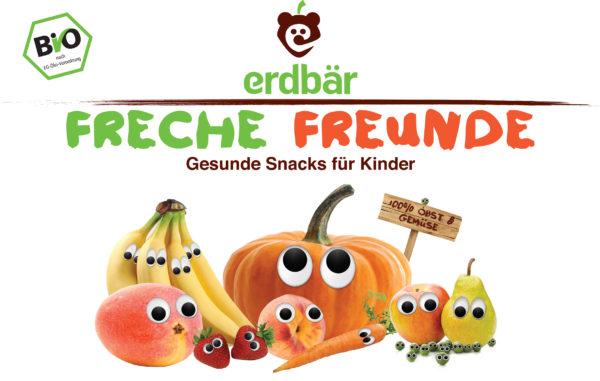 erdbär – Freche Freunde Gesunde Snacks für Kinder