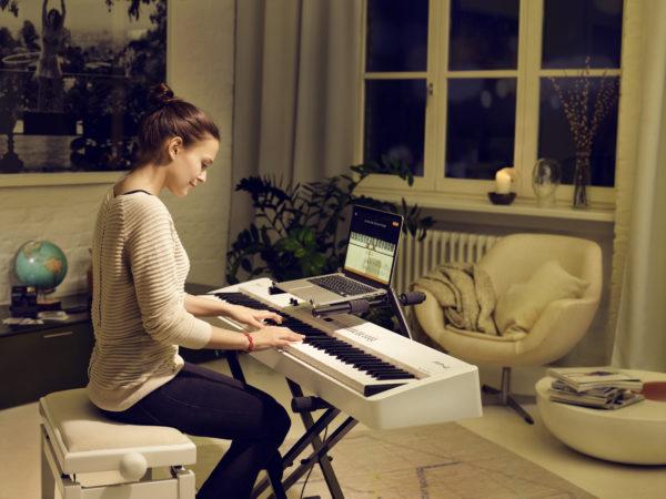 Klavierlernen mit flowkey