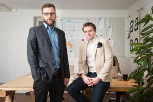 Philipp Harsleben und Marco Klock, Gründer von edicted.