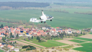 Flug über Thüringen mit dem Rotorvox C2A