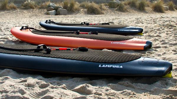 Lampuga – elektrisch betriebene Surfboards