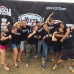 Das Team von Jochen Schweizer bei einer XLETIX-Challenge