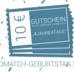 4 Jahre Seedmatch: Ihr Gutschein!