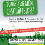 Green Alley Award Deadline