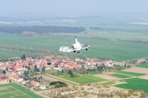 Rotorvox C2A über Thüringen