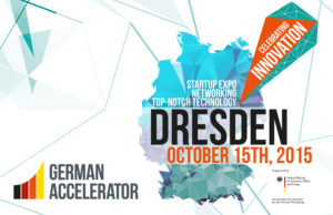 German Accelerator: Celebrating Innovation 2015 in Dresden