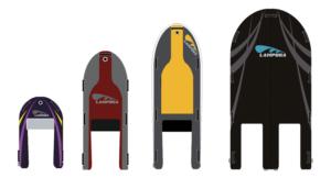 Lampuga stellt neue Rümpfe für die Boards vor