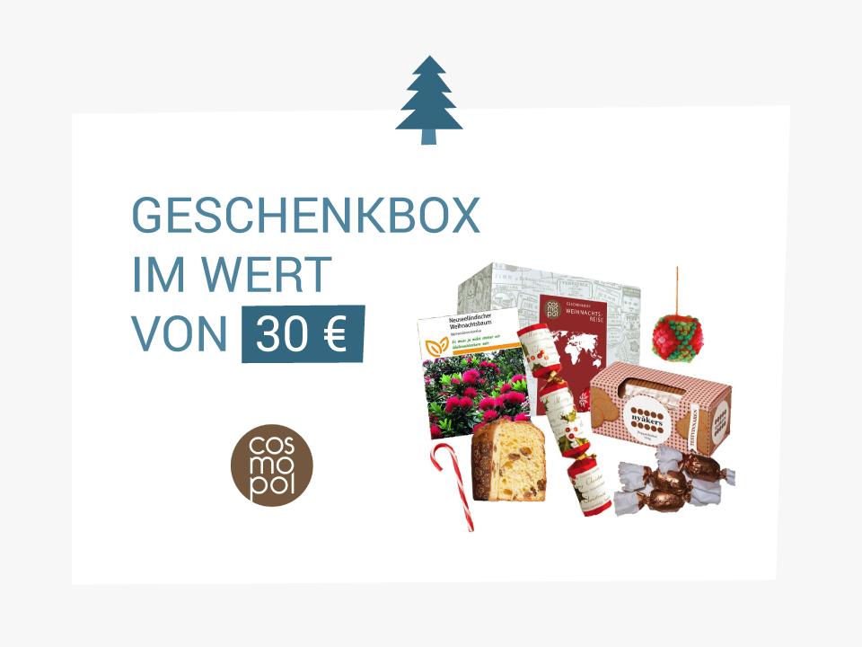 Adventsgewinnspiel 2015: XMAS-Box von cosmopol