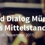 Crowd Dialog 2015 am 26.11. in München
