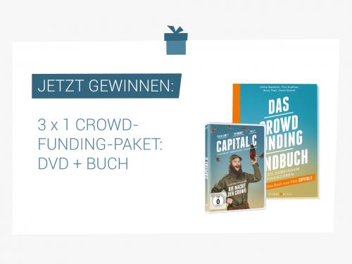 """Gewinnspiel: Dokumentarfilm """"Capital C"""" und """"Crowdfunding-Handbuch"""""""