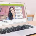 Mock-up der Website von LeaseRad – einem bei Seedmatch finanzierten Startup