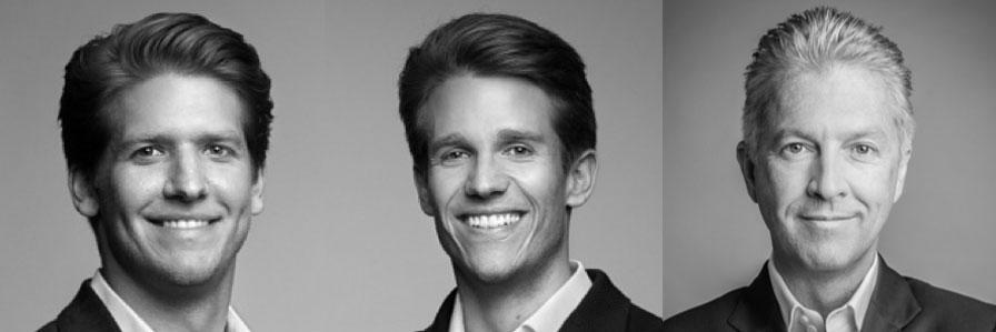 Namhafte Secucloud-Investoren: Dr. Fabian Heilemann und Ferry Heilemann von Heilemann Ventures sowie Dr. Cornelius Boersch von Mountain Partners (v. l. n. r.).