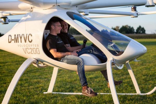 Stephan Wolf und Alexander Zosel, Gründer von e-volo