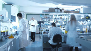 Blick in das Labor von Rodos Biotarget – einem Startup bei Seedmatch.