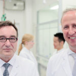 Dr. Gieseler-von der Crone (CSO) und Dr. Furch (CEO), Co-Gründer von Rodos Biotarget.