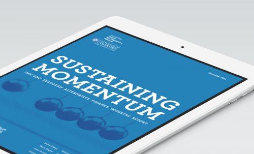 Cover des europäischen Crowdfunding-Reports