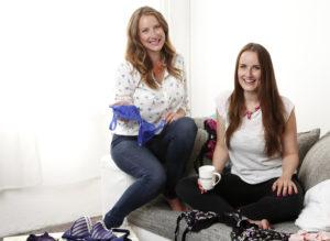 Die SugarShape-Gründerinnen Sabrina Schönborn (l.) und Laura Gollers