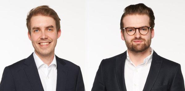 Jan Frederik Strasmann (l.) und Marco Klock von rightmart