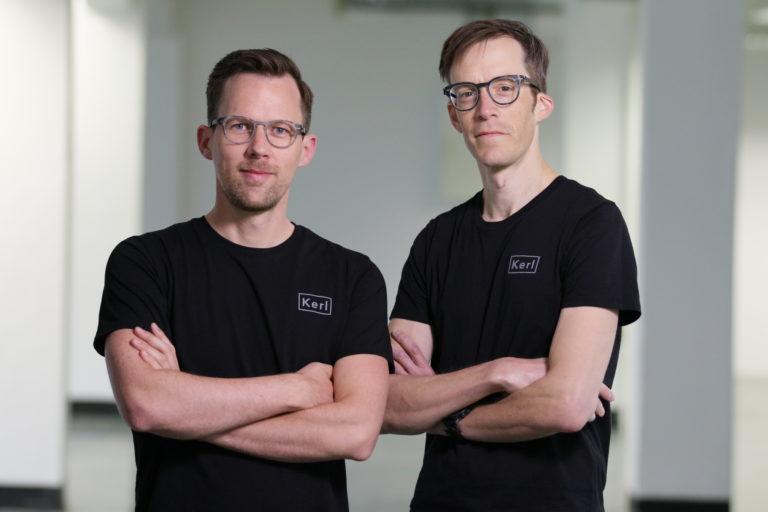 Kerl Eyewear-Gründer Jaromir Ufer und Johannes Dillinger